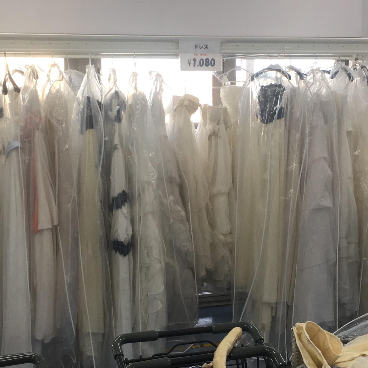 レンタルドレス在庫買取